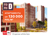 ЖК «Город»! Отделка white-box Стильная архитектура. Бесплатные